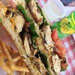 Jerk Chicken Sandwich.. delicious!
