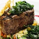 Steak also