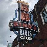 B.B. KINGS BLUES CLUB in Memphis on Beale Street