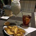 Картошечка и коктейль Милки-вей