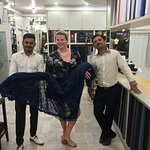 David and Lucky were fantastic making last minute alterations for my dress on my return to Austr