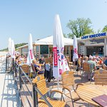 Mojito Beach Bar Niechorze  widok z samej plaży