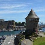 Brest, Tour de la Motte Tanguy and Brest castle