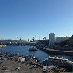 Brest, Tour de la Motte Tanguy, as seen from Boulevard de la Marine