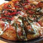 Gas-Fired Pizza (Half Genovese/Half Faccia Luna)