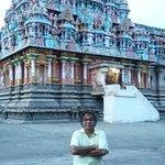 Myself at Thirubhuvanam Sri Kambahareshwarar temple