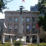 The NC Veteran's Monument at the State Capitol