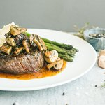Four Mushroom Steak
