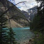 Moraine lake trail