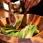 Table side Caesar Salad