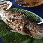 Grilled salted fish