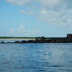 Boat ruins