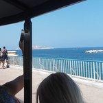 Petit Train - Marseille - arrivée à Notre-Dame de la Garde