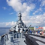 Photo of Battleship USS ALABAMA