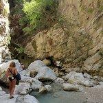 Around the waterfall