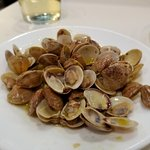 Clams tapa! Very flavorful and plentiful.