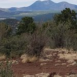 Sunset Crater from Old Caves crater