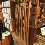 Apple Barn walking sticks