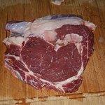 Sirloin steak preparation