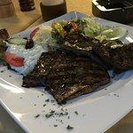 Rinderleber vom Grill
