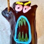 voodoo doll donut