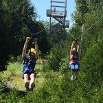 Lakeshore Adventures Zip Line Photo