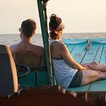 Cruise experience in Siem Reap.