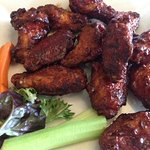 Bar-B-Que Style Chicken Wings