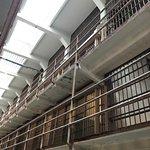 Inside of Alcatraz Prison