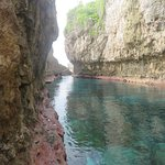 Matapa chasm - low tide.