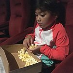"""Inside the Pacific movie theater, waiting for """"Incredibles 2"""""""