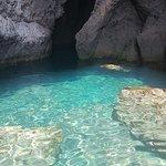 Una de las cuevas de la excursión