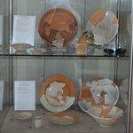 Artifacts on display in tower of Fortezza di Radicofani