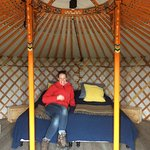 That's the orange yurt, they are all the same but in different color.