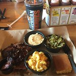 Lunch at Mission BBQ