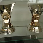 Troféus do Campeonato Brasileiro 2015 e 2017