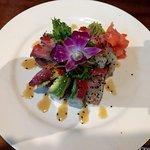 Amazing presentation of sushi