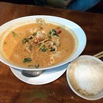 Huge portion of Red Curry