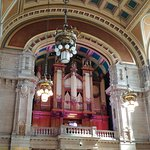 The organ in Kelvingrove