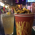 Drinks and Boardwalk Fries