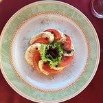 Mozarella and tomato