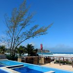 Vista do Uniq Beach Lounge