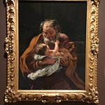 I finally got to see this original of St. Joseph and Baby Jesus.