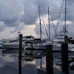 A great dockside view