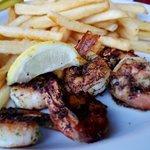 Some delicious shrimp