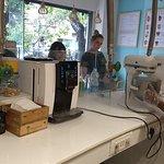 making of the icecream