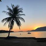 Por do sol na Praia Grande, Ilhabela