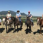 Three generations on horseback!