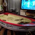 Live lobster in the Lorenzillo's boat as you walk in