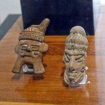 Ancient pre-Columbian figurines.